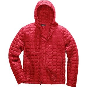 NWT The North Face Red Hooded Thermoball Jacket